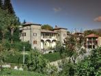 Panoramica della Villa Benedetta