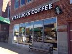 Starbucks Old Town, 3 min drive, 16 min walk