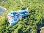 South Sound Villa on Mattie Point, Virgin Gorda. It does not get any better.