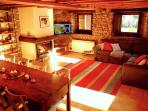 Living room of Cal Pesolet Eco Turisme Rural