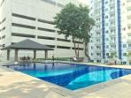 swimming pool of tower 2..