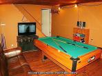 One of 3 Game Rooms - Pool Table - HDTV - Board Games
