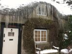 Icicles at Little Thatch