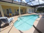 Pool, Spa and Lanai - outside 40' TV