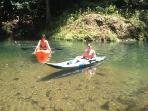 rent a kayak and explore the rivers or ocean