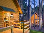 Christmas Mountain Village is a relaxed, secluded resort with newly renovated cabin-style housing.