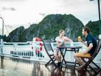 More than a few of our guests spend large portions of their cruise on the sundeck to taste a drink