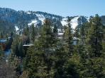 Entry Level Deck - View of Big Bear Mountain Ski Slops