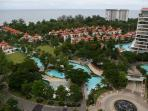 Condo complex with luxurious villas & pools