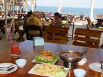 Nearby beachfront Thai restaurant