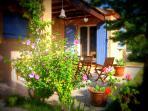 Gîte OLIVIA - terrasse