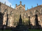 1000 year old Chester Cathedral