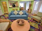 Living room area of Holua unit of Moana Loa Village