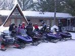 Snowmobiling, ATV trails, golfing, hiking, etc.