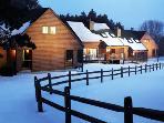 Winter in Christmas Mountain Village