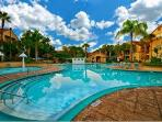 Beautiful resort with so many amenities and close to Disney, shopping, restaurants.