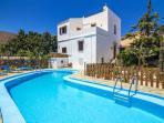 Aptera Villa Exterior - Private Pool