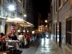 BAIRRO ALTO - Lisbon's main night life area is at the streets behind Rua Dom Pedro V