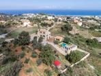 A panoramic view of the Villa's location! Enjoy your peace and privacy!
