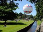 The award winning Bournemouth Gardens