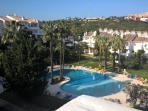 stunning pool complex