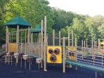 Brand new playground at Fleischmanns Park - just a short walk down Wagner Ave.