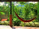 Nice hammock to enjoy the peace of the rain forest