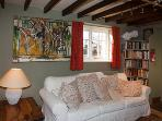 The owner is a well known Cumbrian Artist...many paintings adorn the cottage walls.