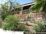 la terrasse du gite Colibri