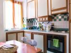 The Bedroom - Kitchen - Living Room