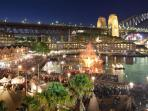 Equally as stunning by day or night, the rocks is the heart of Sydney dining & entertainment