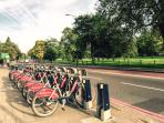 Rental bikes - 2 mins away from the flat