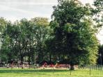 Clapham Common playground - next door!