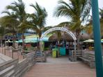 Famous Sharky's Restaurant as Viewed from Pier