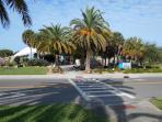 Entrance to Venice Beach