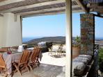 Outdoor Dining Area | Diles & Rinies Estate | Villas in Tinos