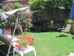 Great yard and garden for relaxing or a picnic, BBQ available
