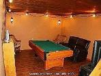 1 of 3 Game Rooms - Pool Table - HDTV