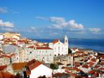Lisbon, capital of Portugal can be easily reached by train from Sintra or is a 40 minute drive