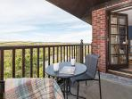Top balcony accessed from the master bedroom with more stunning views across the river