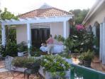 private massage at villa