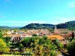 Mancor de la Vall. Un pequeño pueblo de  1000 habitantes al pie de las montañas de la Sierra Norte