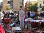 El Jueves mercadillo de antigüedades en c/ Feria