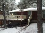 Welcome to the Cozy Cabin! Located in a quiet neighborhood off of Lake Pagosa.