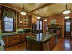View of Gourmet Kitchen - commercial style and beautiful