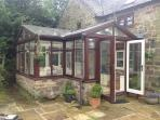 External view of conservatory - inside picture next.