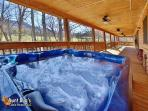 Heavenly Creekside #276- Hot Tub with A View