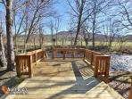 Heavenly Creekside #276- Outside Deck By The River
