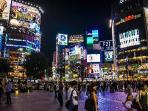 Overview of Shibuya, The time Square of Tokyo, just minutes walk from the apartment!