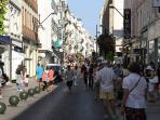 La rue d'Antibes